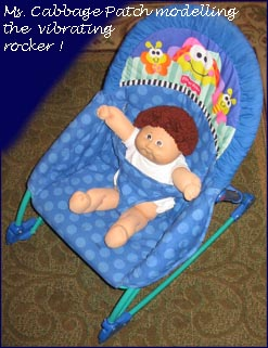 vibrating chair/rocker